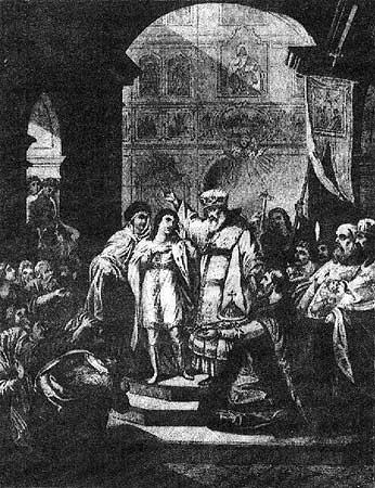 Избрание Михаила Фёдоровича Романова на царство