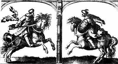Русский князь и татарский хан