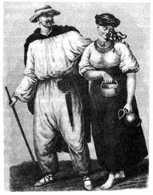 Малоросские крестьяне
