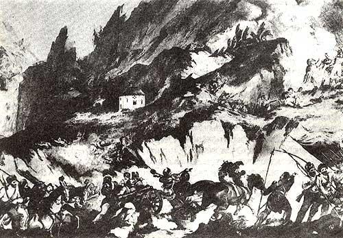Переход русской армии через Альпы