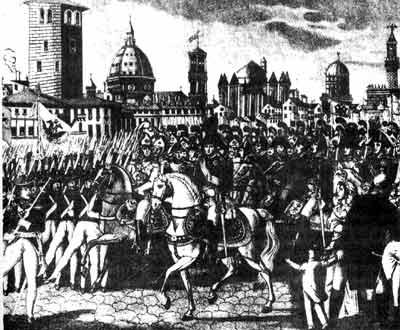 Въезд русских войск в Париж