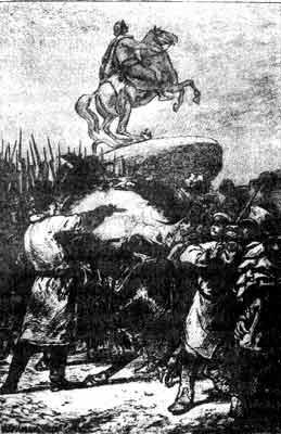 Ранение Милорадовича на сенатской площади