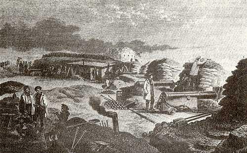 Батарея адмирала Корнилова на Малаховом кургане