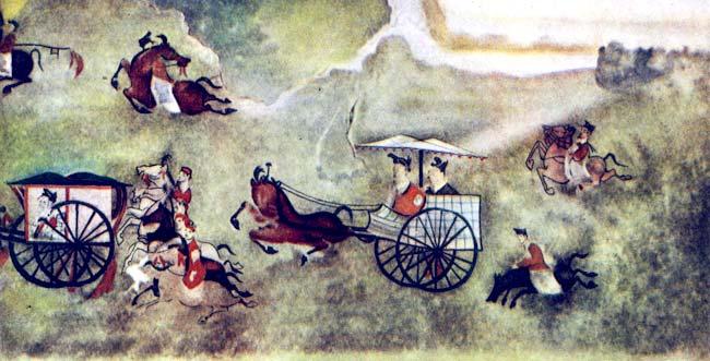 древнекитайская живопись: