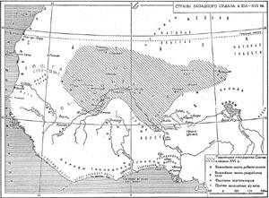 Страны Западного Судана в XVI-XVII вв.