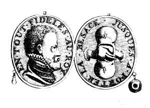 Медаль дворянских гёзов. 1566 г.
