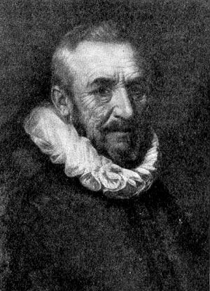Иоганн Олденбарнвелде. Портрет работы Мирвельдта.