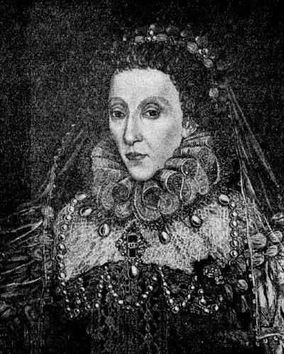 Елизавета. Портрет работы неизвестного мастера второй половины XVI в.