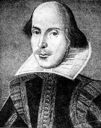 Вильям Шекспир. Гравюра М. Дресаута. 1623 г.