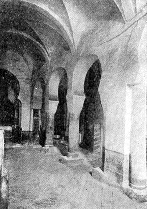 Внутренний вид церкви в монастыре Сан Миллан де ла Коголла (Кастилья). X в.