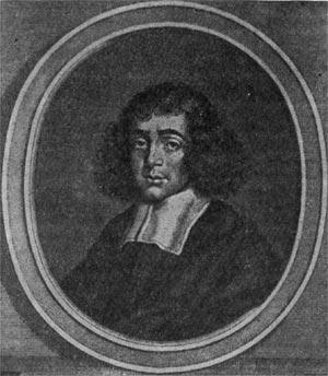 Барух Спиноза. Гравюра XVIII в.