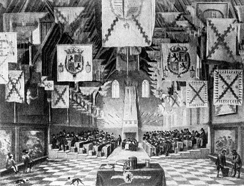 Заседание генеральных штатов в Гааге в 1651 г. Д. ван Деелен.