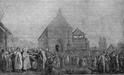 Польская шляхта на сеймике. Рисунок З. Норблина