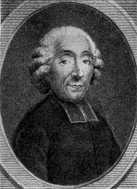 Габриель Бонно Мабли. Гравюра XVIII в.