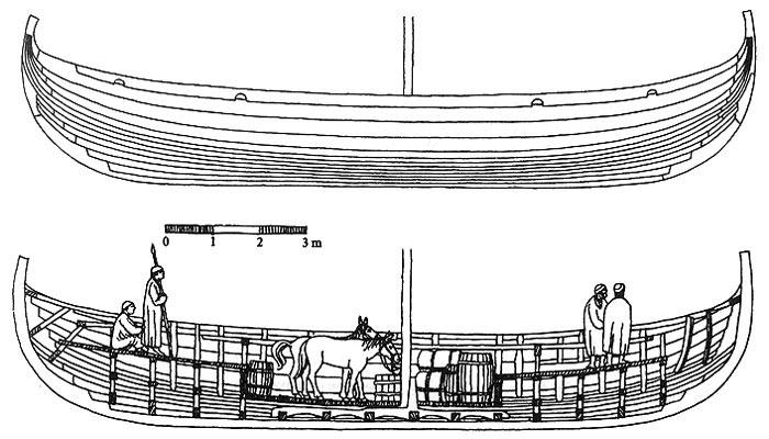 Схема погрузки корабля из