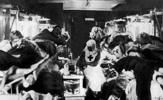 Первая мировая война. 1914-1918 гг. В санитарном поезде