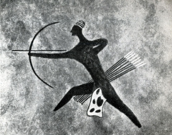 12. Джаббарен. Лучник из большой охотничьей сцены. Скотоводческий период