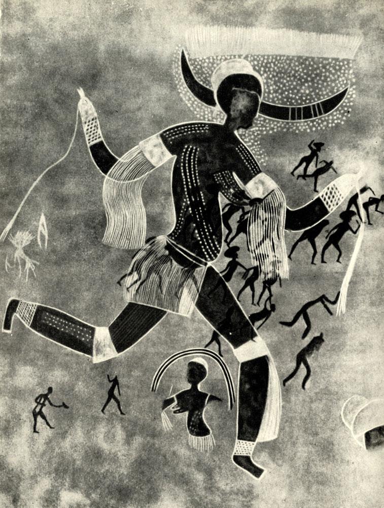 16. Ауанрхет. Рогатая богиня или 'Белая дама'. Расцвет стиля 'круглоголовых' с признаками египетского влияния