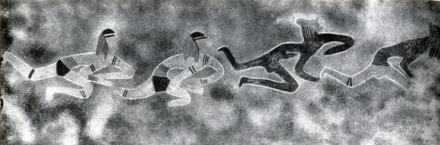 18. Ауанрхет. 'Марафонский бег'. Послескотоводческий период с признаками египетского влияния