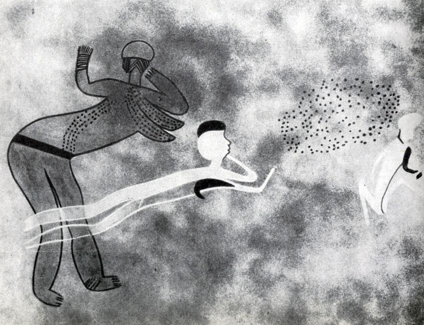 19. Ауанрхет. Африканка с татуированной грудью. Послескотоводческий период с признаками египетского влияния