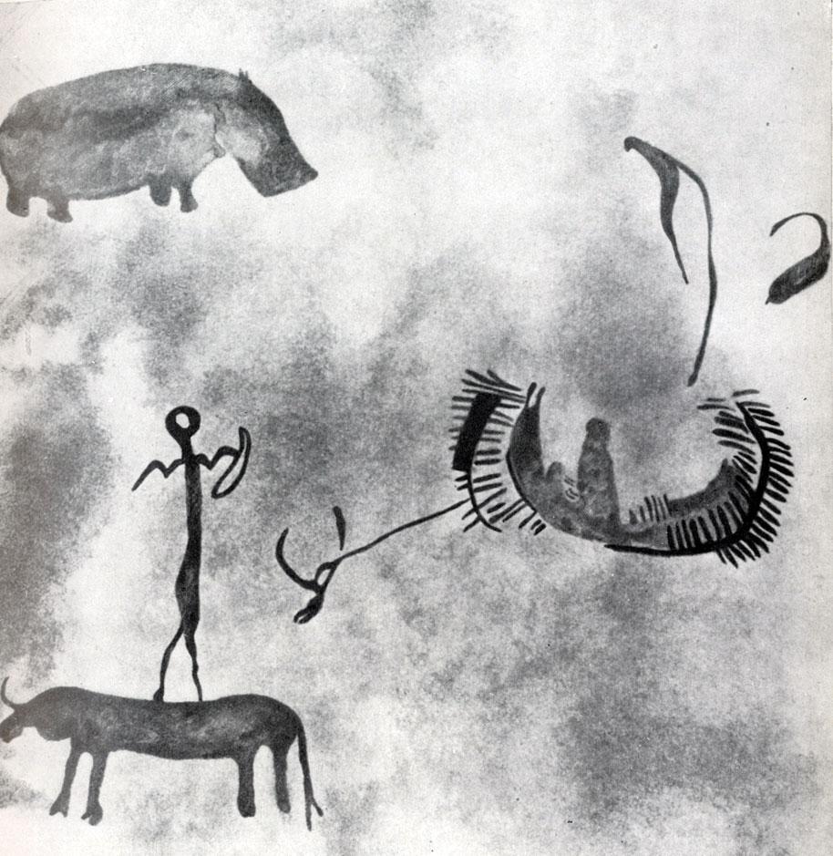 20. Ауанрхет. Охота на гиппопотамов. Скотоводческий период