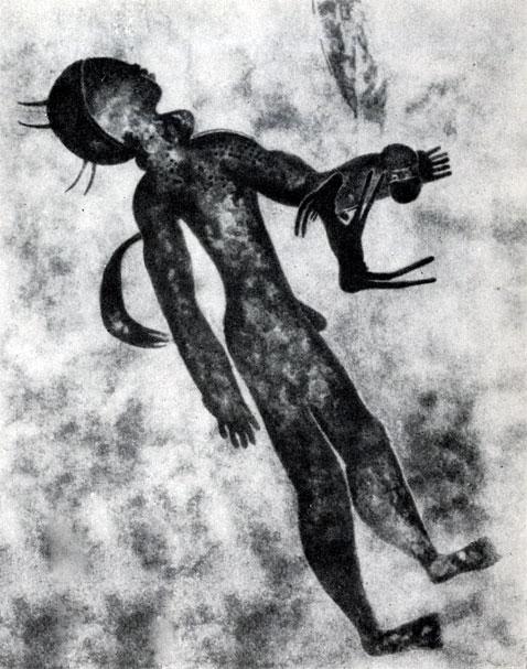 22. Тин-Тазарифт. Пловец. Расцвет стиля 'круглоголовых' людей