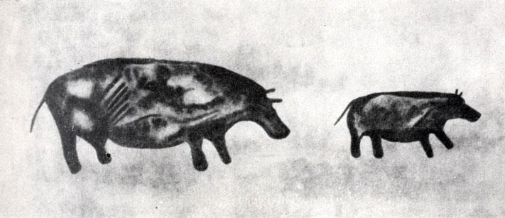 26. Тин-Тазарифт. Гиппопотамы. Скотоводческий период