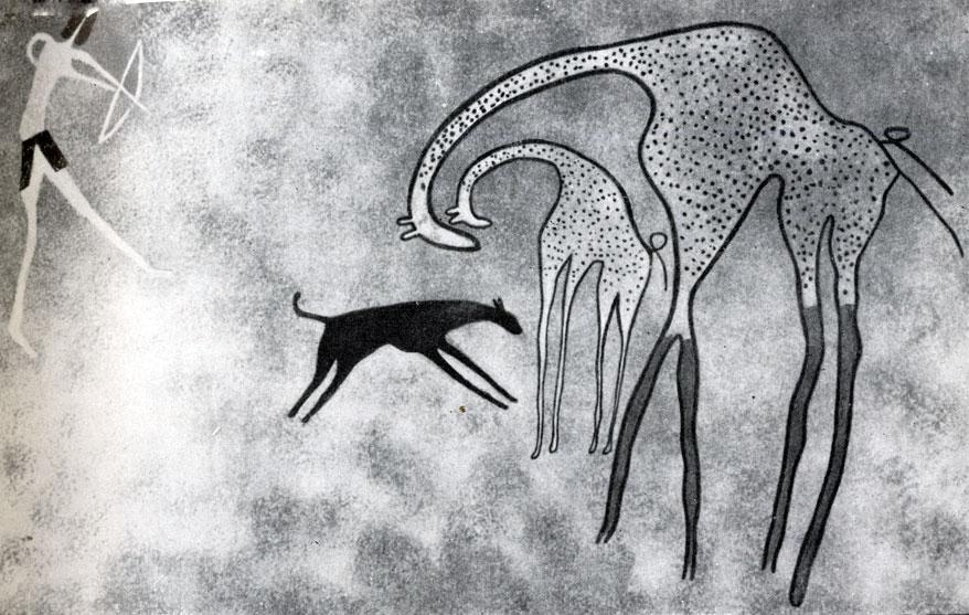 33. Аджефу. Охота на жирафу. Период верховой лошади