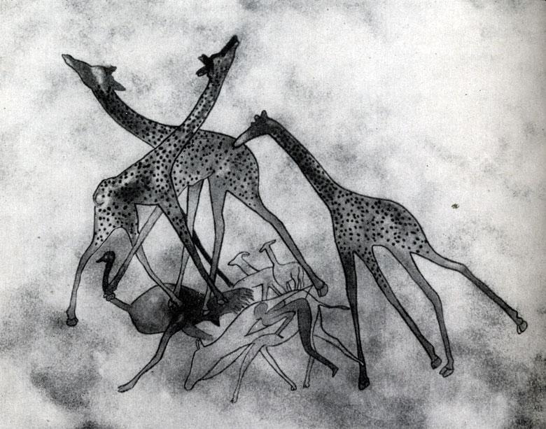 35. Уан-Абу. Битва жираф. Скотоводческий период