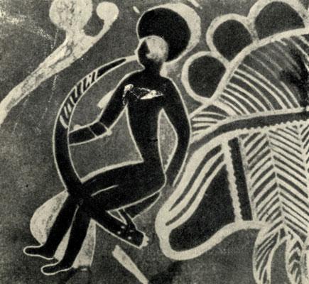 е) Стиль 'круглоголовых' людей с признаками египетского влияния