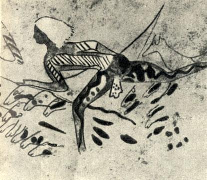 ж) Стиль охотников с татуировкой Древний скотоводческий период