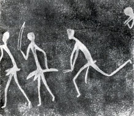 к) Стиль 'белых людей' с удлиненными конечностями. Послескотоводческий период