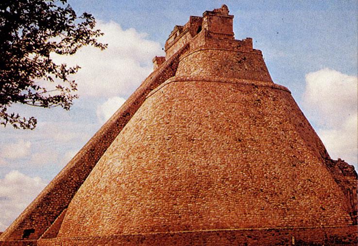 'Пирамида Прорицателя' в Ушмале