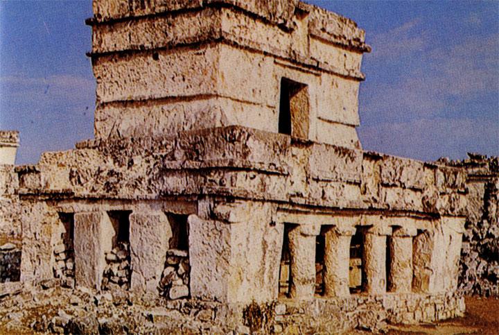 Храм в Тулуме, Кинтана-Роо