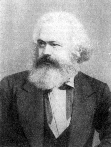 Глава xvii Международное рабочее движение ii интернационал  Карл Маркс Фотография 1872 г