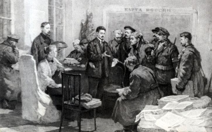 5-6 января 1918 года учредительное собрание and путь развития ст: