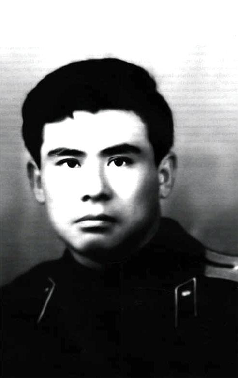 Ст. лейтенант Исенгулов А.Г. в 1968 году - зам. командира 144-й роты специального назначения