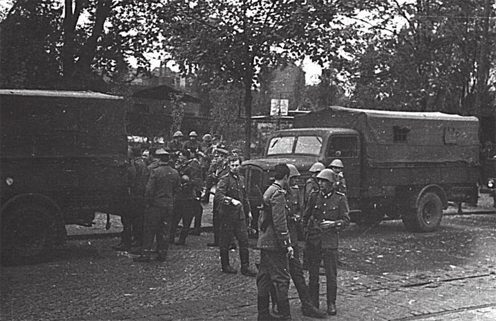 Перед боевой тревогой на границе ГДР и Чехословакии, 20 августа 1968 года