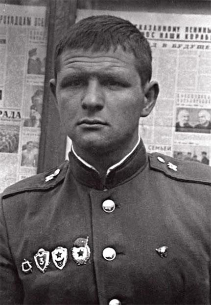 Жигаренко Николай Иванович, в дни службы