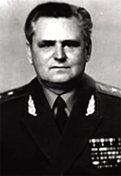 Командир 7-й гв. воздушно-десантной дивизии, генерал-лейтенант воздушно-десантных войск, Горелов Л.Н.
