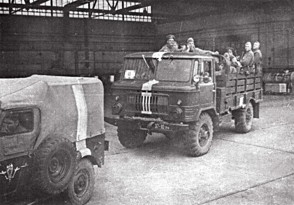 Расположение Пражского аэропорта. Выдвижение на Прагу с боевой задачей блокировать Военно-политическую академию высшего командного состава, где рота охраны была разоружена. 21 августа 1968 года