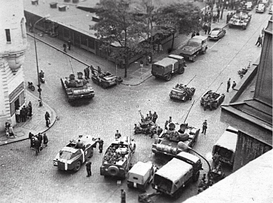 Улица Праги, конец августа 1968 года