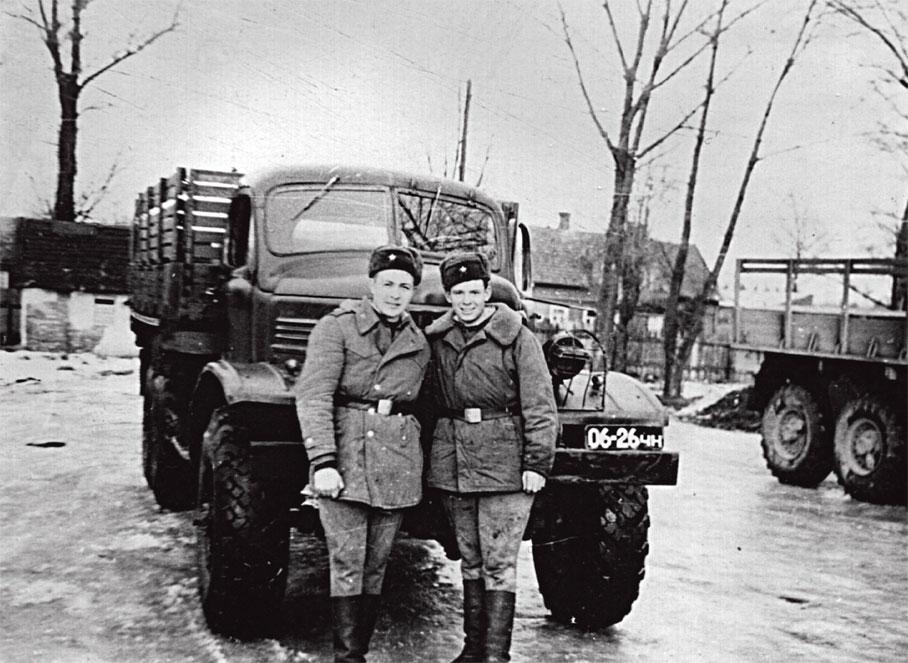 Вернулись из ЧССР на 'зимние квартиры' в Литву. Ноябрь 1968 г.