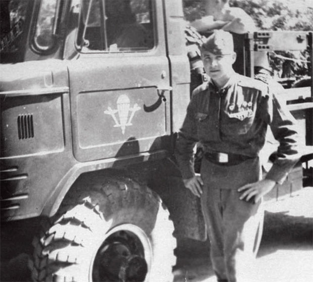 Чепоруха Александр Федорович в дни службы