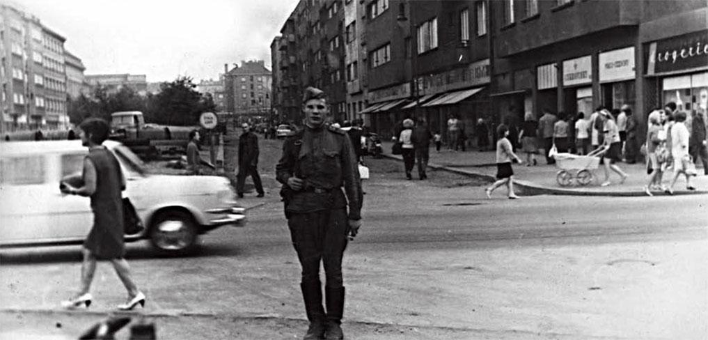 Градинар Л.А. в Чехословакии, август 1968 года
