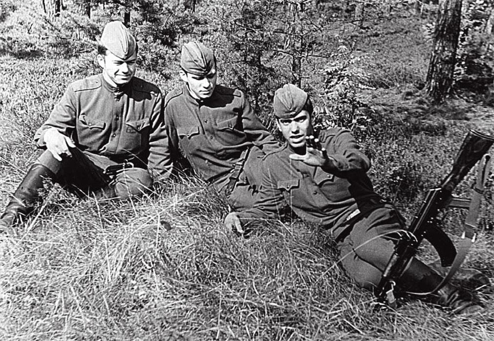Подгрушный Ю.А. с товарищами в Чехословакии
