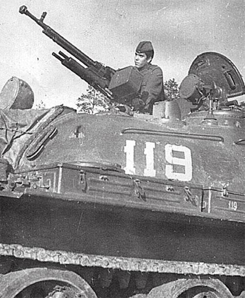 Подгрушный Ю.А. Чехословакия, 1968 г.