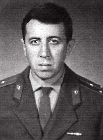 Старший лейтенант медицинской службы Сербин Е.К., 1968 г. ГСВГ пп 60413