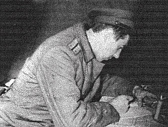 Записи в историях болезни раненых иногда приходилось делать при свечах