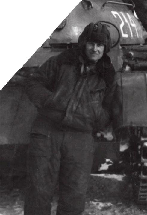 Мой наставник - командир танка Анатолий Пофалушин